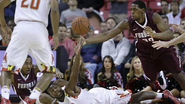 Ryan Rhoomes' scoring efficiency (above 60 percent since his freshman year) should be no surprise to the Fordham faithful. (AP)