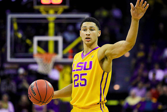 Ben Simmons is living up to the hype. LSU is not. (philly.com).