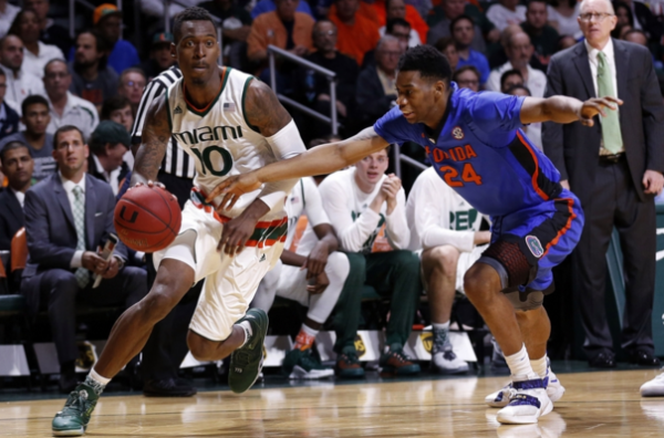 Florida's back court couldn't keep up with Sheldon McCellan and Angel Rodriguez in a loss to Miami (caneswarning.com).
