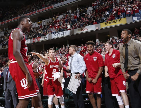 Indiana's Comeback Win Was Cause for Celebration in Indy (USA Today Images)