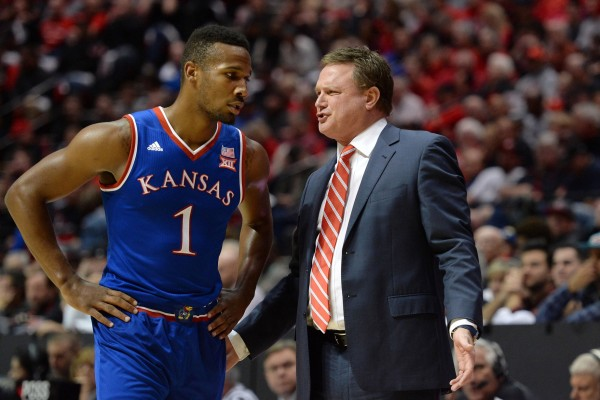 Kansas is one of the few elite programs to consistently play true non-conference road games. (USA Today Images)