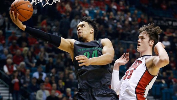 Dillon Brooks And The Ducks Are One Win Away From Clinching At Least Part Of A Pac-12 Title (John Locher, USA Today)