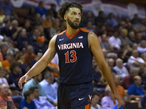 Anthony Gill's 15 Point, 8 Rebound First Half Kept Virginia Close (Photo: USAT Sports)
