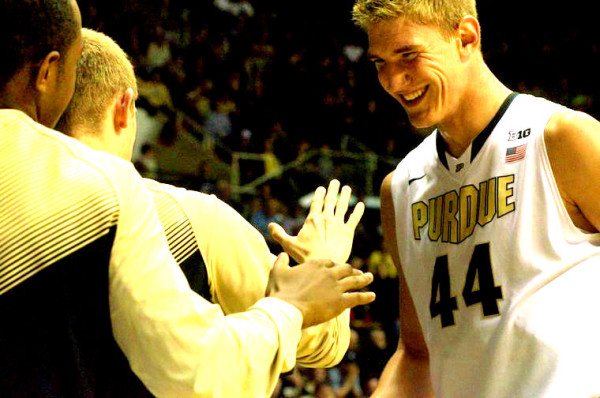 Isaac Haas Has Been Dominant For The Undefeated Boilers (Photo: The Exponent)
