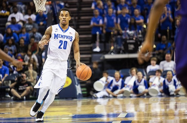 Led by transfer guard Ricky Tarrant, Memphis is on an upward trajectory. Photo Credit: Memphis Daily News