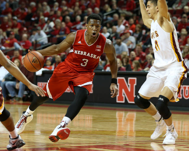 Andrew White has replaced Terran Petteway as Nebraska's go-to scorer (Photo Credit: Scott Bruhn/Nebraska Communications)