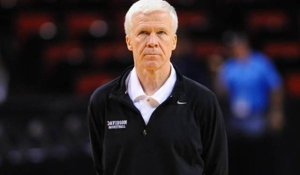 It doesn't look like Bob McKillop and Davidson will repeat at conference champs this time around. (Tim Cowie/DavidsonPhotos.com)