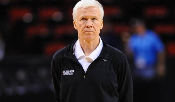 Despite his elite coaching prowess, it doesn't look like Bob McKillop and Davidson will repeat at conference champs this time around. (Tim Cowie/DavidsonPhotos.com)