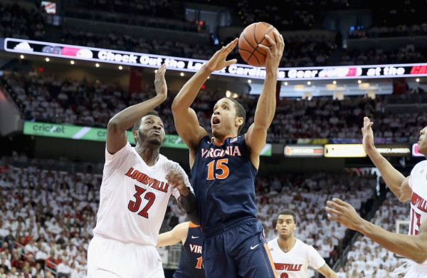 Malcolm Brogdon led the way in Virginia's domination over Louisville. (Andy Lyons/Getty Images)