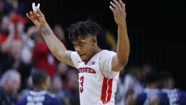 Corey Sanders is leading Rutgers in scoring despite an uneven first season for Eddie Jordan's team. (Getty)