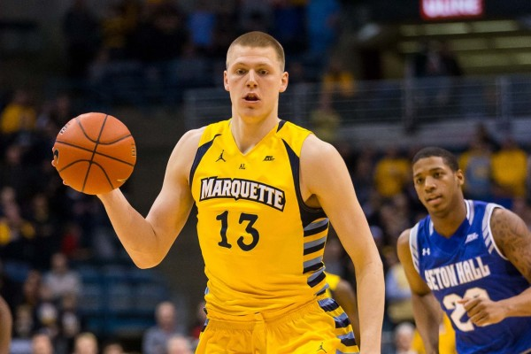 Marquette's Henry Ellenson Plays a Perimeter-Oriented Game (USA Today Images)