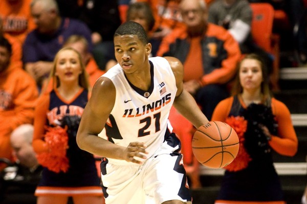 Malcolm Hill Helped The Illini Cruise Past Purdue (USA Today Sports)