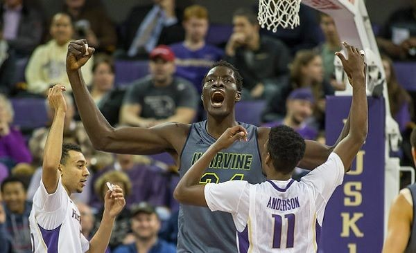 Mamadou N'diaye continues to led UC Irvine towards another run at the Big Dance. (Getty)