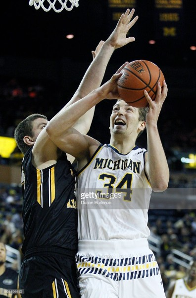 Michigan will need Marc Donnal to continue his stellar play against Purdue Thursday night. (Getty)