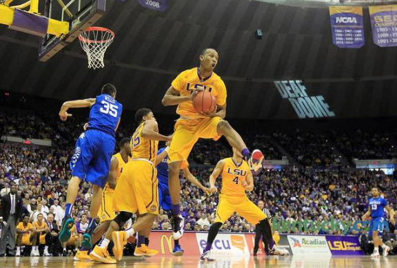 Tim Quarterman was LSU's big star in its win over Kentucky (kentucky.com).