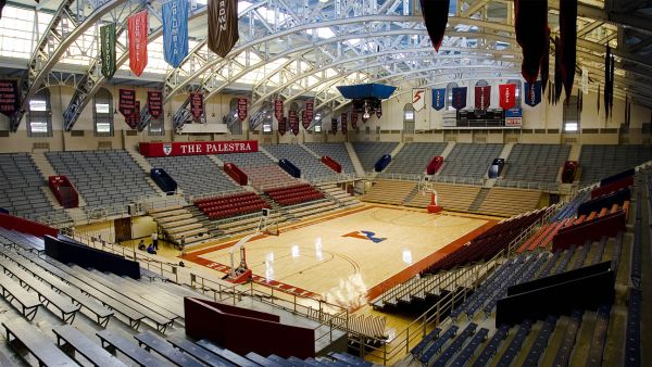 "Penn's home floor will be host to a pretty cool ""old school"" doubleheader. (AP Photo/Matt Rourke)"