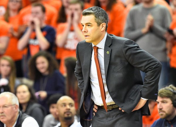 Tony Bennett and Virginia earned a hard fought win over Syracuse on Sunday night. (Stephen D. Cannerelli/syracuse.com)