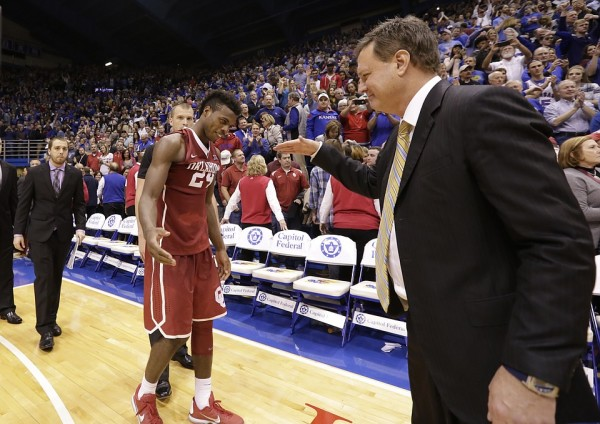 Kansas and Oklahoma gave us one for the ages on Monday. (Nick Krug/KU Sports)
