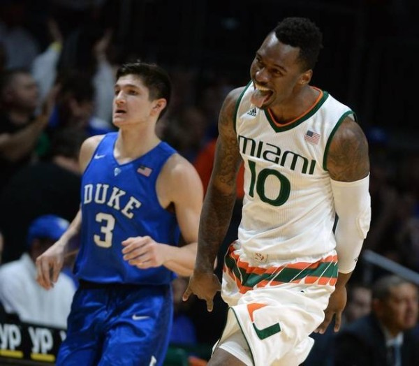 Duke didn't have the legs to hang with Miami. What does that mean going forward? (photo: Chuck Liddy/News & Observer)