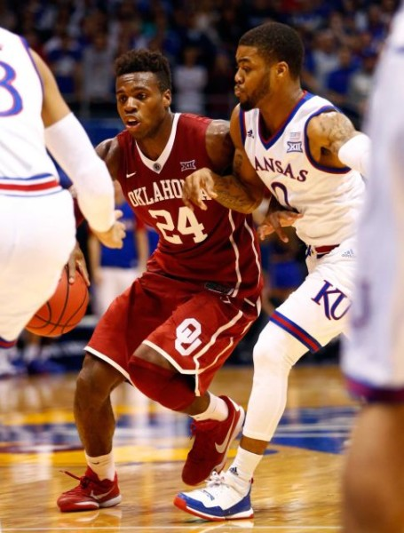 Buddy Hield's Sooners and Frank Mason's Jayhawks gave us the game of the decade. (Jamie Squire/Getty Images)