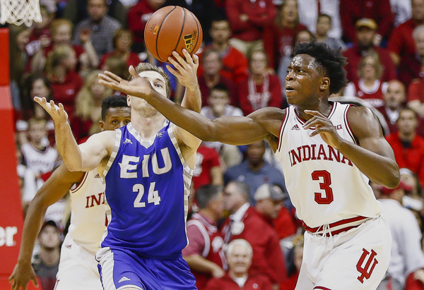 OG Anunoby has all the hype coming into this season that he was missing as a HS recruit. (Michael Hickey/Getty Images).