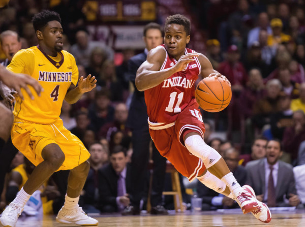 Yogi Ferrell Has Been Dynamic For The Hoosiers (USA Today Sports)