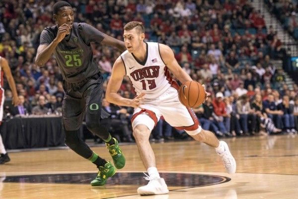Without Ben Carter, UNLV's Best Hopes Are To Go Small and Fast (Joshua Dahl-USA TODAY Sports)