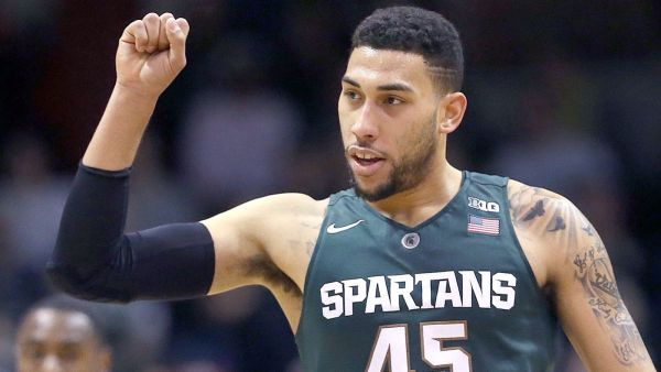Denzel Valentine has become one of the nation's best players, if not the best, in his senior season. (AP)