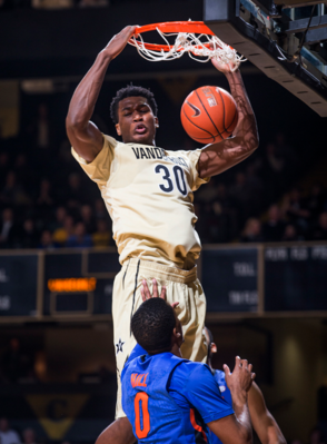 Damian Jones has been on top of his game lately (sportsandentertainmentnashville.com).