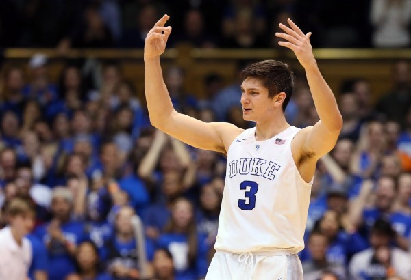 Grayson Allen Has Blown Up This Season at Duke (USA Today Images)
