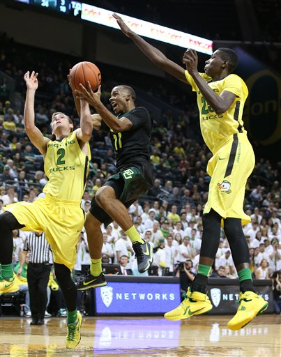 Even Following A Lost Weekend By The Bay, The Ducks Are In Good NCAA Position (AP Photo/Chris Pietsch)
