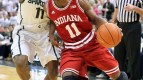 Yogi Ferrell will try and keep his Hoosiers in the Big Ten title race with a win against the Spartans.