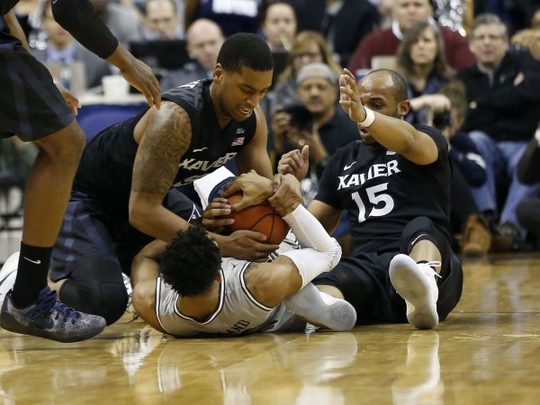 Xavier's hectic 1-3-1 defense helps the Musketeers fluster opponents. (Geoff Burke-USA TODAY Sports)