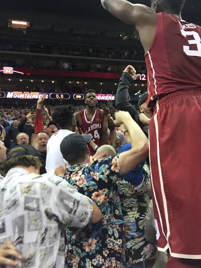 Buddy Hield's buzzer-beating three was a fraction of a second late, nullifying the crazy celebration it sparked.