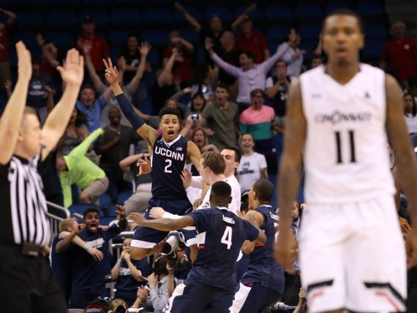 Is Connecticut in for another charmed March? Colorado will have a say in that on Thursday. (Logan Bowles-USA TODAY Sports)