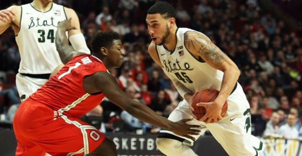 Denzel Valentine and the Spartans continue improving. (http://247sports.com/)