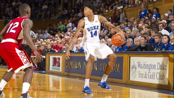If this is indeed Brandon Ingram's only season at Duke, he sure made it a great one. (Duke Athletics)