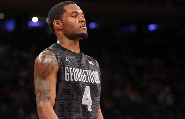D'Vauntes Smith-Rivera And The Rest Of The Hoyas Extended Their Season Wednesday Night (Photo: Getty)