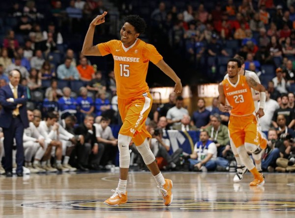 Tennessee pulled off a stunning upset of Vanderbilt Thursday (John Bazemore/AP)