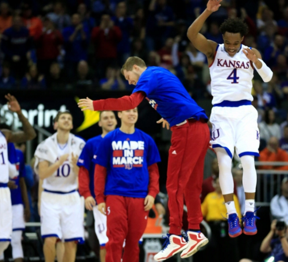 Kansas got past Kansas State to set up a semifinal match up with Baylor (ksnt.com).
