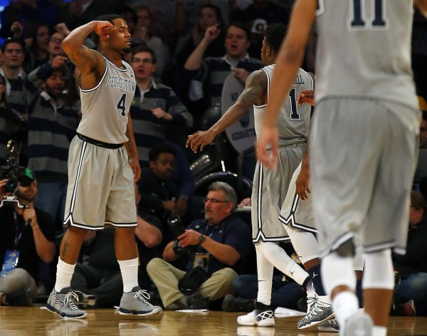 Georgetown Lives to Fight Another Day (USA Today Images)