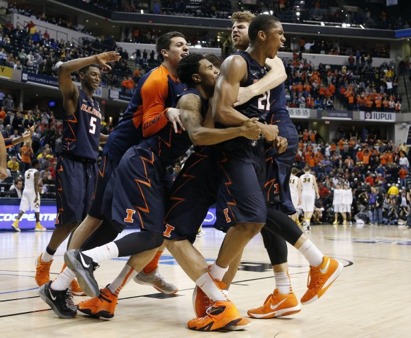 Malcolm Hill and the Illini will have to hope that the slipper still fits against Purdue Purdue on Friday. (USA Today Images)