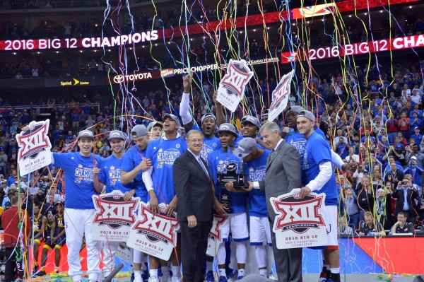 Kansas Does the Double Big 12 Championship Thing (USA Today Images)