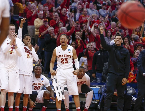 Iowa State Advances in a Fun-n-Gun Game (USA Today Images)