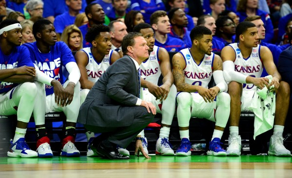Kansas is poised to win another Big 12 title, but the non-conference games come first. (USA Today Images)