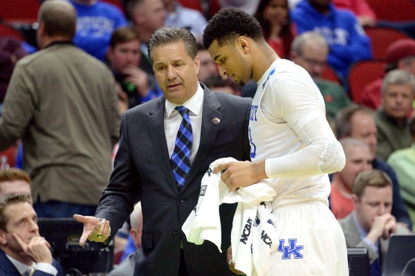 Calipari's Cats Move On (USA Today Images)