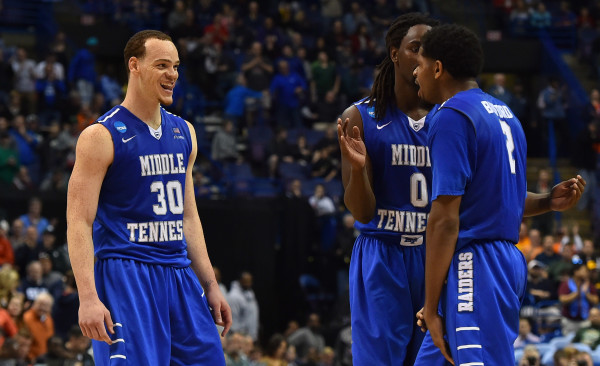 Middle Tennessee State's Friday upset of Michigan State sent shock waves through the bracket (Photo: Jasen Vinlove-USA TODAY Sports)