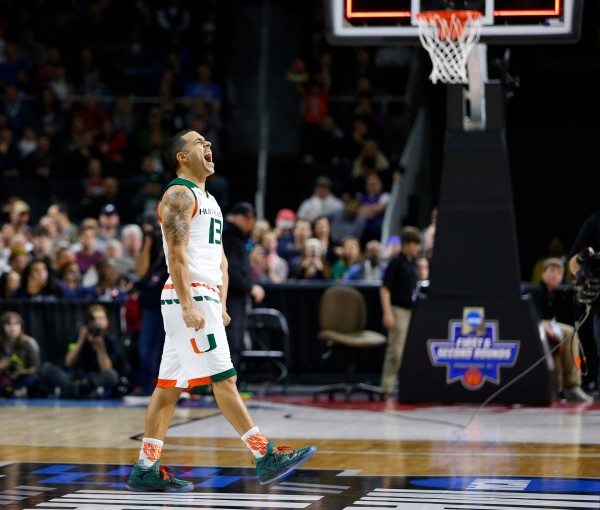 Miami's Angel Rodriguez Led His Team to the Sweet Sixteen (USA Today Images)