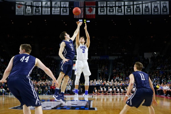 Grayson Allen Led Duke to Coach K's 23rd Sweet Sixteen (USA Today Images)