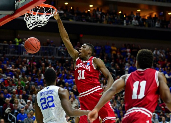Thomas Bryant is the RTC Preseason Big Ten Player of the Year (USA Today Images).